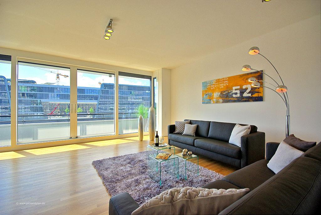 einrichtung einer musterwohnung im rheinauhafen in k ln derhomestager. Black Bedroom Furniture Sets. Home Design Ideas